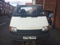 Ford Transit Recovery Truck 2.5 D Beavertail ***WORKING WINCH & BEACONS***