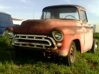 57 CHEVY STEP SIDE - THIS IS THE DREAM RESTORATION
