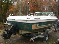 18 Foot ThunderCraft  165HP Mercury Inboard/outboard