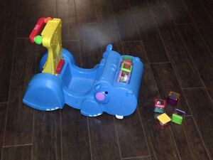 Fisher Price Gobble and Go Hippo walker