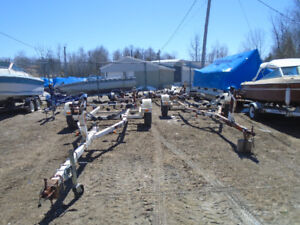 Various Boat Trailers For Sale