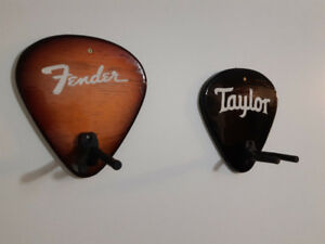 One-of-a-kind guitar hangers for sale!