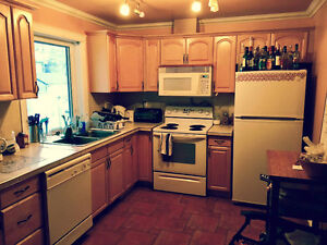 ROOM FOR RENT in McKernan, private bath, TV (August)