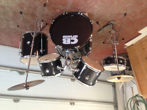 Complete set of drums