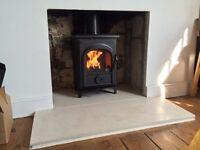 Woodburner Supplied and Fitted HEATAS Registered Log Burner Stove Bristol Bath Area