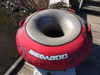 SeaDoo Tube and Tow Rope! Mint!