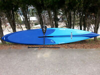 SUP - 14 ft Laird Bark ultra-lite with carbon fiber paddle