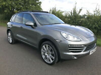 2012 62 PORSCHE CAYENNE 3.0 TD 4X4 TIPTRONIC S **£16K WORTH OF EXTRAS**