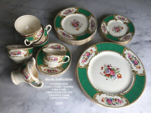 Vintage Fine Bone China dinnerware set- Myotts Staffordshire