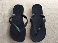 Havaianas Flip Flops, Size 39-40