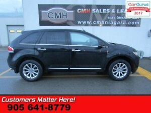 2012 Lincoln MKX   AWD, NAV, ROOF, CAMERA, COOLED SEATS, POWER G