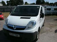 2007 Vauxhall Vivaro 2.0CDTI 2900 SWB / Twin Sld Diesel Van