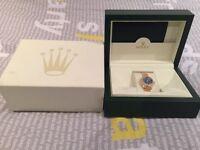 Rolex datejust 69178 ladies 18ct gold