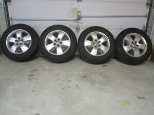 Ensemble pneus d'hivers MK4 VW Winter tire set