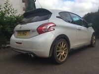 "Peugeot 208 Gti 30th Anniversary Edition """"Huge Spec Must See"""" fiesta corsa st vxr rs sport"