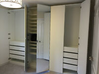 Ikea Bed Pax Watdrobe Cabinets Closets Assembly myinstaller.ca
