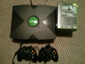 Original Xbox with 9 Games