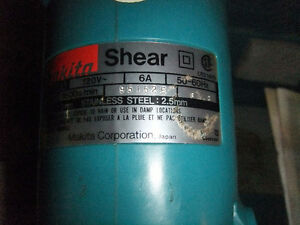 For Sale: Makita Metal Shear Edmonton Edmonton Area image 3