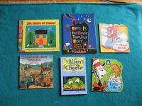 6 Primary misc books
