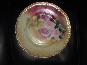 CT Germany: American Beauty Roses Plate-Signed By Artist