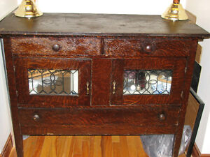 VERY OLD CHINA CABINET!
