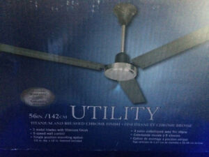 New Ceiling fan – never used still in box