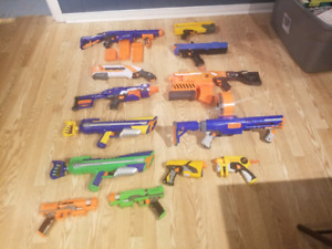Nerf guns for sale all or individual.