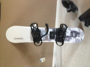 Firefly snowboard and boots