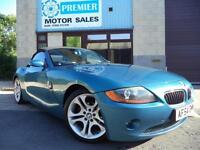 2004 (54) BMW Z4 2.2i SE ROADSTER, FULL HEATED LEATHER, PARKING SENSORS, CRUISE.