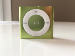 Apple iPod Shuffle 4th Generation 2 GB Model A1373 - green