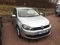 Volkswagen Golf 1.6TDI £30 tax in silver
