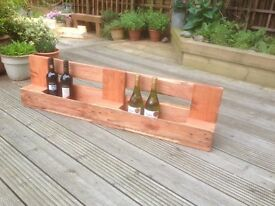 Rustic Decorative Chic wine rack / store 3 available