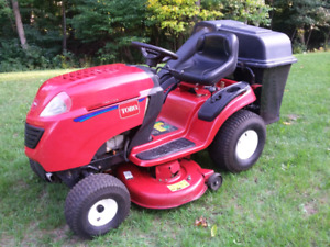 Toro LX425 and Bagger