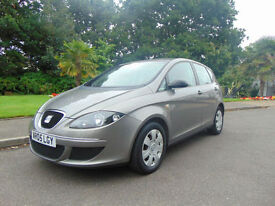 Superb 2005 Seat Altea 1.6 8v Reference Ideal Family Car Drives Beautifully