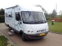 Hymer B564, 2800cc, Drop Down Bed, MOT Cam Belt and Habitation all done,