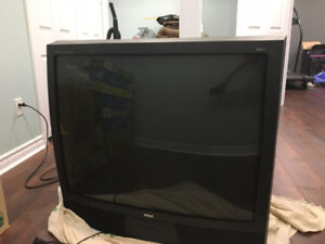 """36"""" RCA Analog TV w/ stand (50$ negotiable)"""
