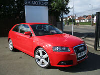 2008 Audi A3 2.0 TDI Sport S Tronic 3dr(HISTORY,LEATHER SEATS)