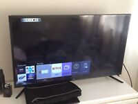 Samsung 42 inch 4K smart TV model number UE43JU6000K