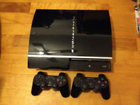À VENDRE/ TO SELL  CONSOLE PS3 +  14 JEUX/GAMES