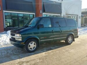 1997 CHEVROLET ASTRO AWD.. GOOD CONDITION. $2.350