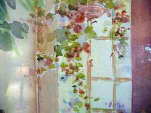 """A Morning Table by Nell LaMarsh """"Morning, By the Window"""" 1970's Stratford Kitchener Area image 6"""