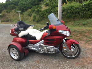 2008 Honda GL1800 Gold Wing with Instatrike kit