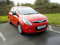 2011 HYUNDAI i20 1.2 CLASSIC 5 DR ONLY 48000 MILES WITH FULL SERVICE HISTORY