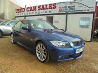 2008 57 BMW 3 SERIES 3.0 325D M SPORT 4D AUTO 195 BHP DIESEL