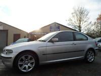 2003 03 BMW 3 SERIES 2.0 318TI SE 3D 141 BHP COMPACT SERVICE HISTORY