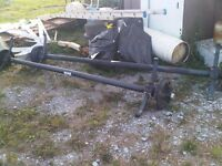 DEXTER TRAILER AXLES WITH BRAKES