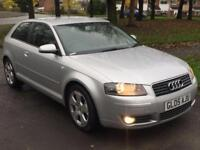 Audi A3 2.0 TDI SPORT 3DOOR,HPI CLEAR,CAMBELT CHANGED AT 43K,2 OWNERS,2 KEYS,A/C