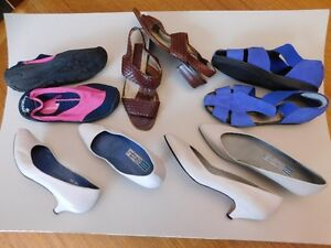 Various good quality shoes