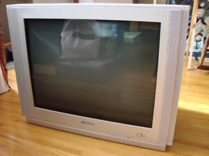 """Samsung 27"""" TV with Remote"""