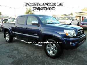 2005 Toyota Tacoma TRD V6 Double Crew Cab 4x4 Low Km